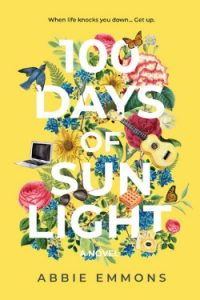 book cover 100 Days of Sunlight by Abbie Emmons