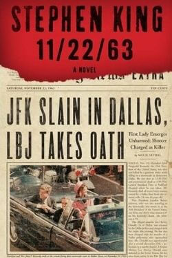 book cover 11/22/63 by Stephen King