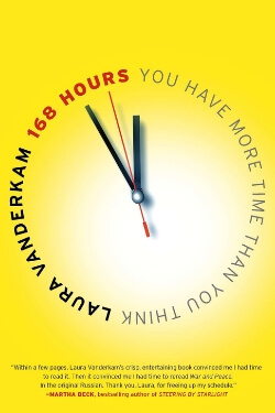 book cover 168 Hours by Laura Vanderkam