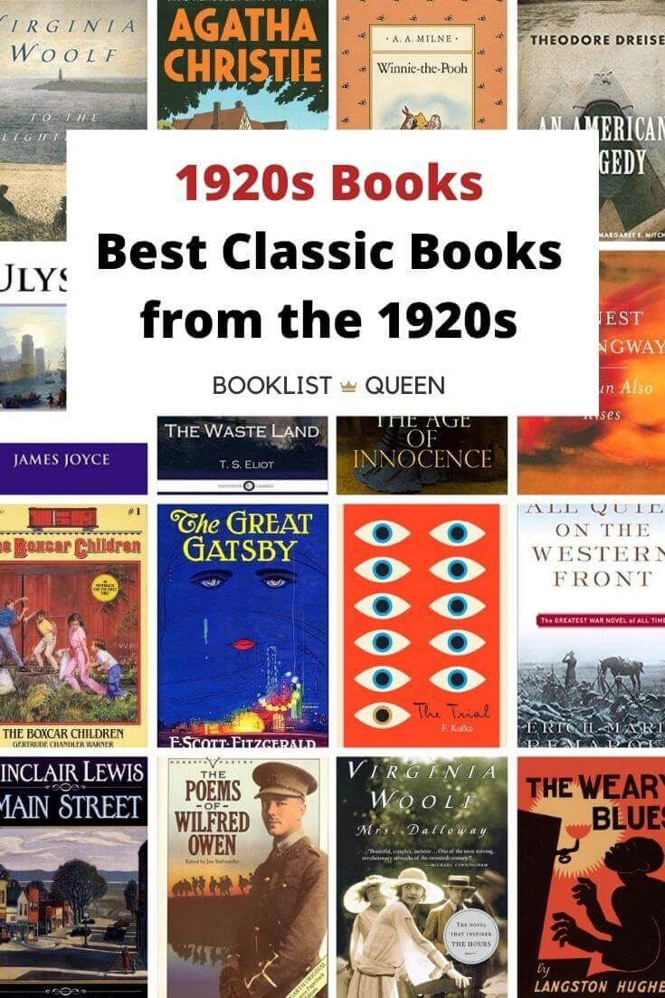 1920s Books Best Classic Books from the 1920s