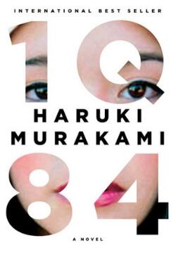 book cover 1Q84 by Haruki Murakami