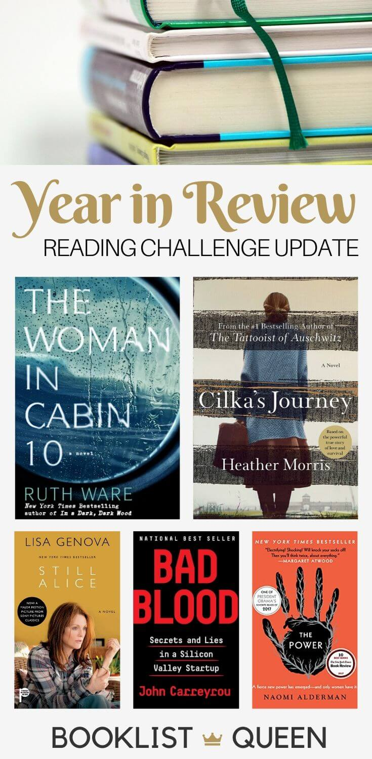 Year in Review - 2019 Reading Challenge Update