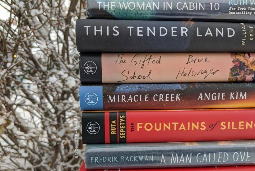 book stack - my 2019 reading challenge update