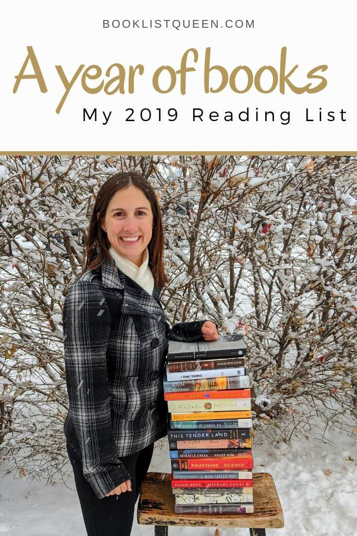 A year of books - My 2019 Reading List