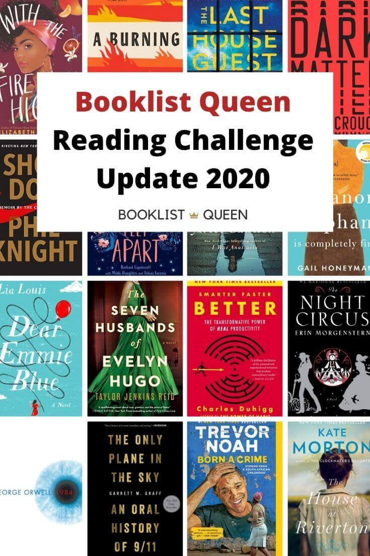Booklist Queen Reading Challenge Update 2020