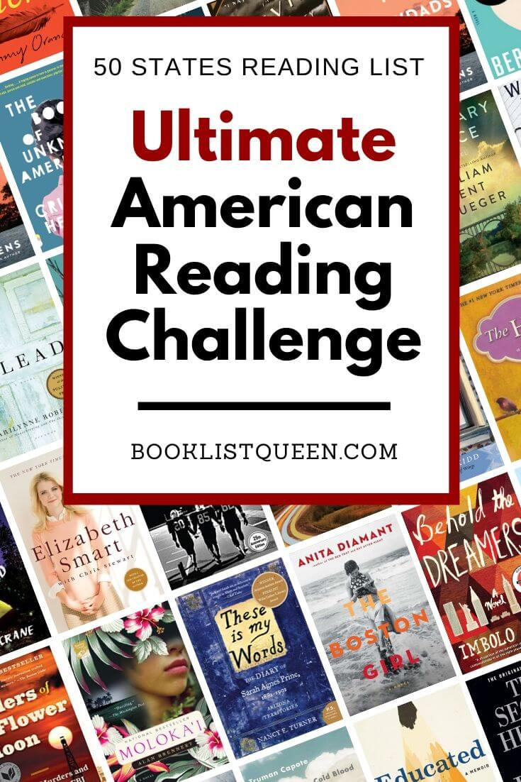 Ultimate American Reading Challenge - 50 States Reading List