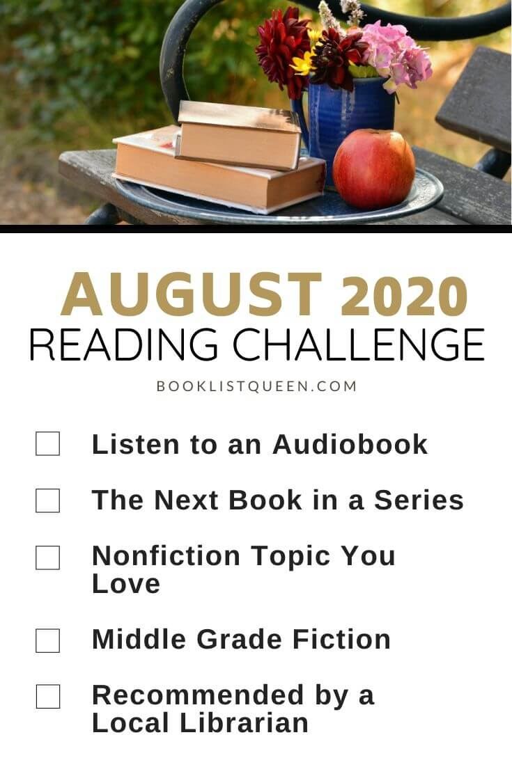August 2020 Reading Challenge