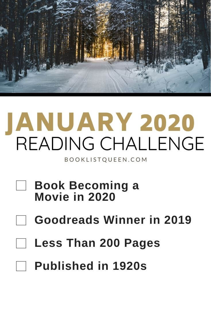 January 2020 Reading Challenge