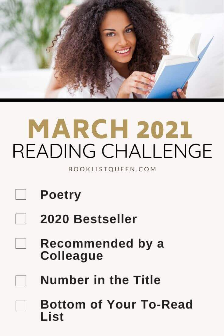 March Reading Challenge 2021
