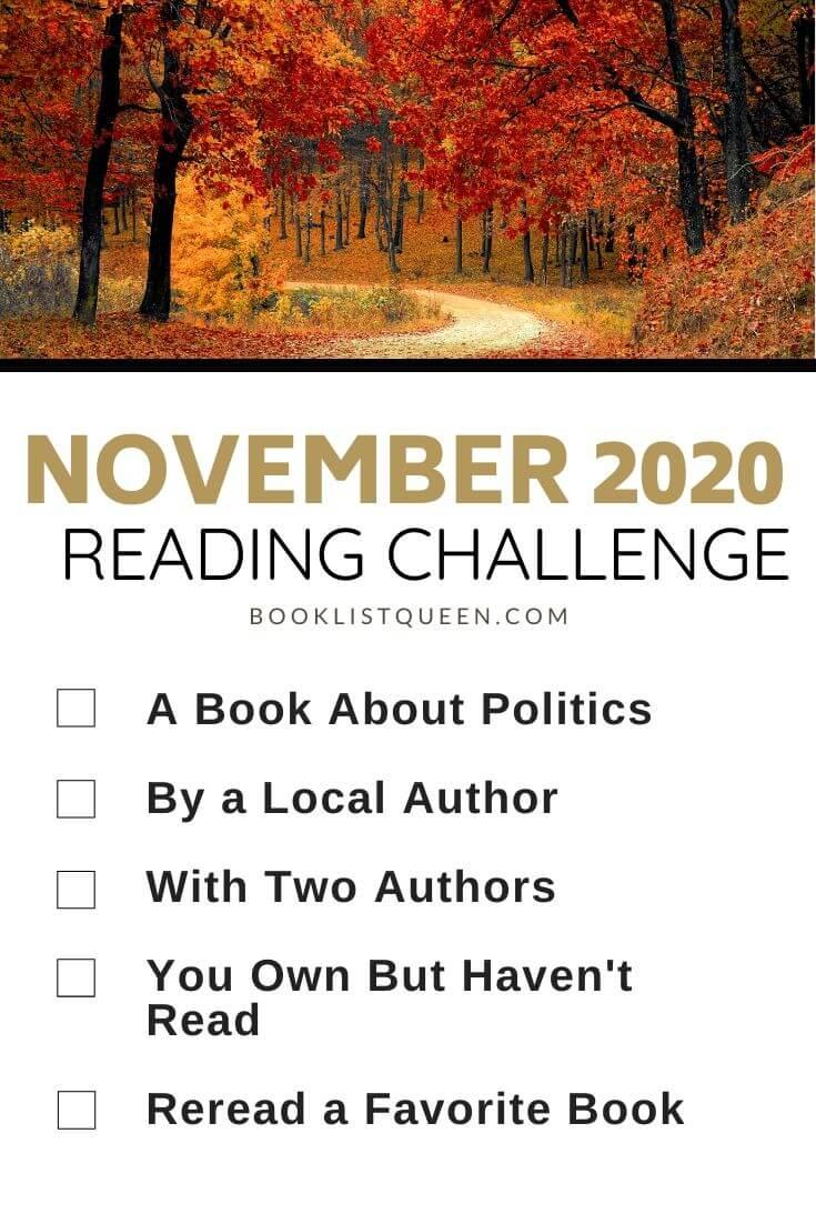 November 2020 Reading Challenge