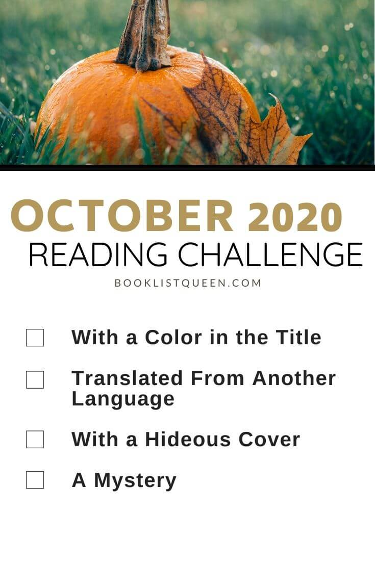 October 2020 Reading Challenge