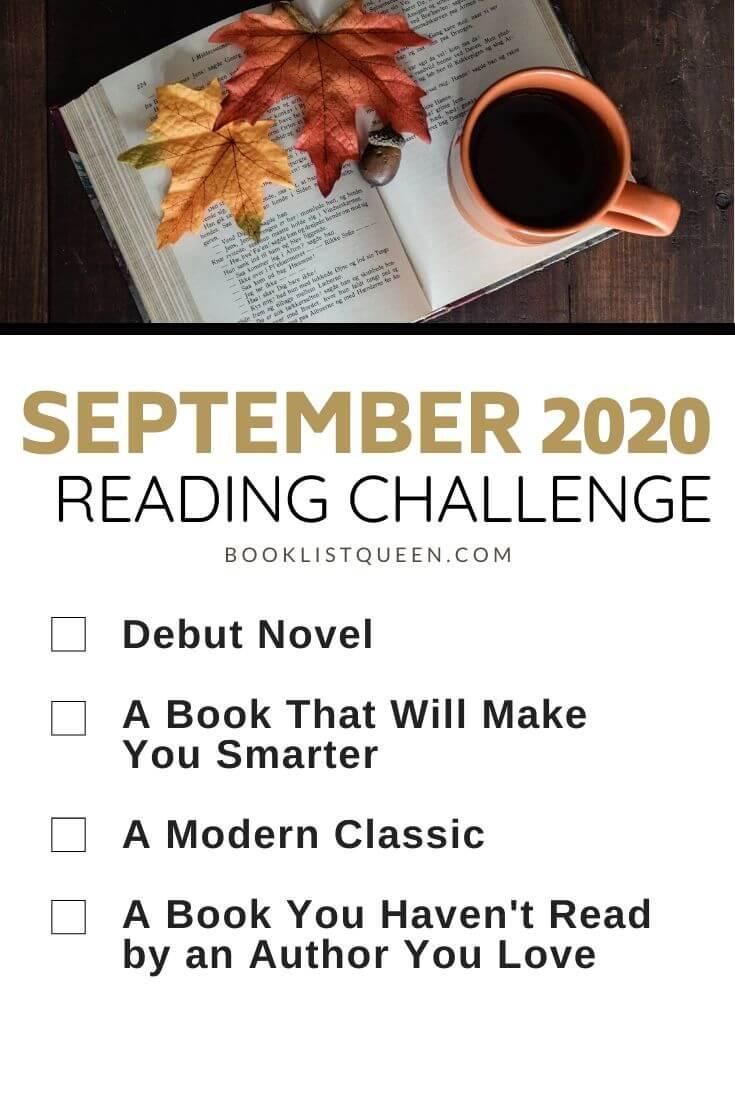 September 2020 Reading Challenge