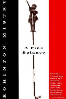 book cover A Fine Balance by Rohinton Mistry