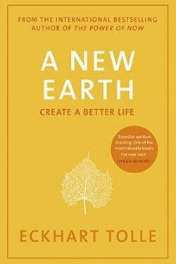 book cover A New Earth by Eckhart Tolle