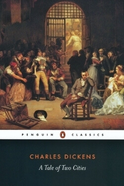 book cover A Tale of Two Cities by Charles Dickens
