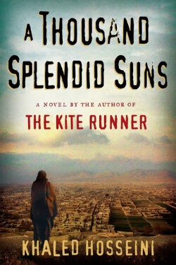 book cover A Thousand Splendid Suns by Khaled Hosseini