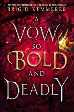 book cover A Vow So Bold and Deadly by Brigid Kemmerer