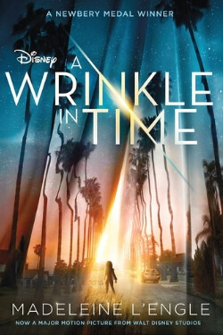 book cover A Wrinkle in Time by Madeleine L'Engle