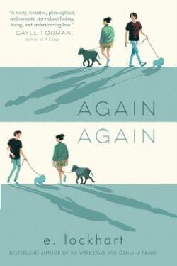 book cover Again Again by E. Lockhart