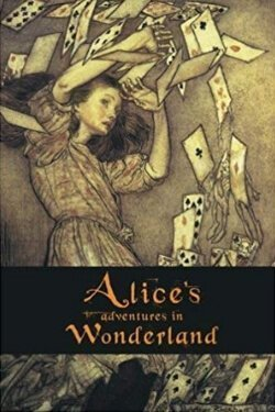 book cover Alice's Adventures in Wonderland by Lewis Carroll