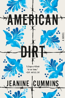 book cover American Dirt by Jeanine Cummins