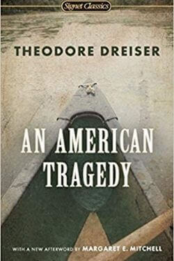 book cover An American Tragedy by Theodore Dreiser