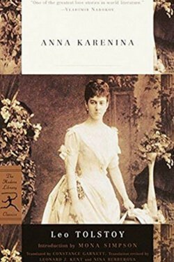 book cover Anna Karenina by Leo Tolstoy