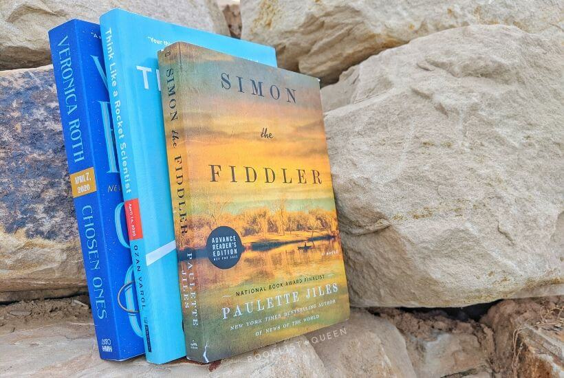 April 2020 Book Releases - Simon the Fiddler, Chosen Ones and Think Like a Rocket Scientist