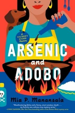 book cover Arsenic and Adobo by Mia P. Manansala