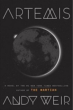 book cover Artemis by Andy Weir