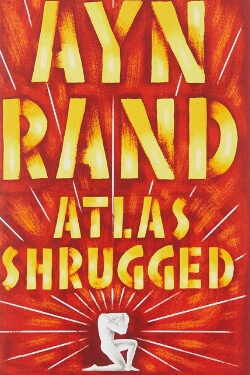 book cover Atlas Shrugged by Ayn Rand