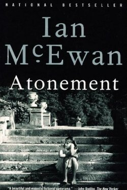 book cover Atonement by Ian McEwan