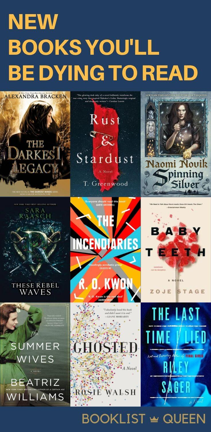 New Books You'll Be Dying to Read - August 2018 Book Releases