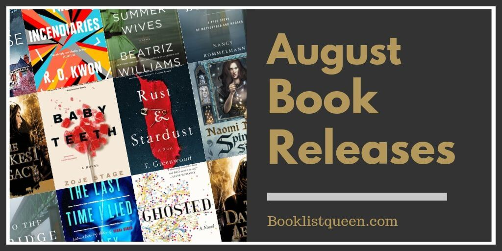 August Book Releases