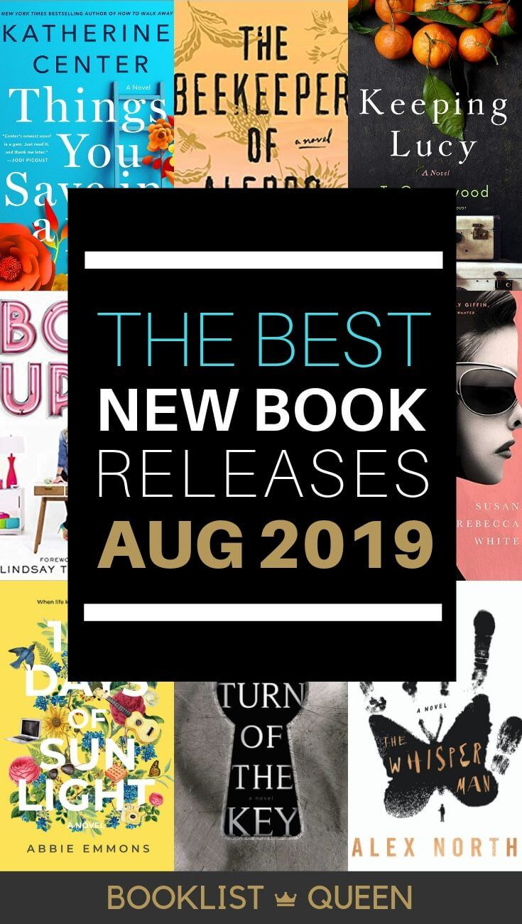 August 2019 Book Releases