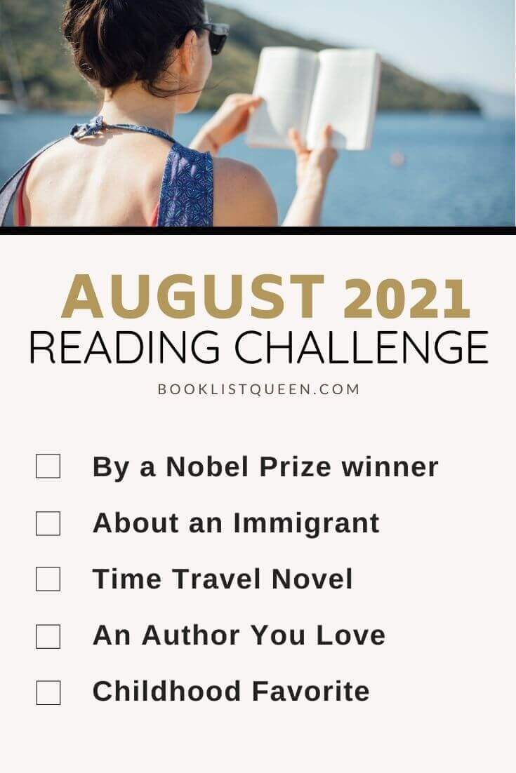 August Reading Challenge 2021