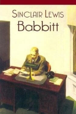 book cover Babbitt by Sinclair Lewis