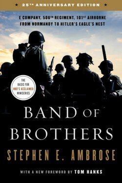 book cover Band of Brothers by Stephen Ambrose