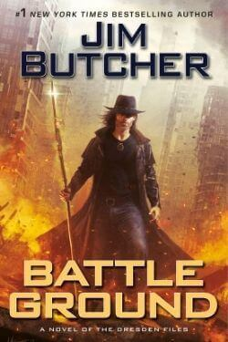 book cover Battle Ground by Jim Butcher
