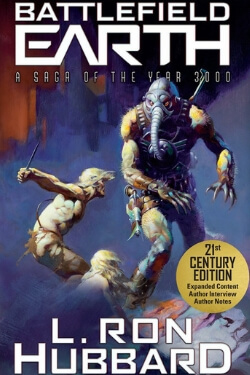 book cover Battlefield: Earth by L. Ron Hubbard