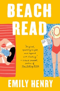 book cover Beach Read by Emily Henry