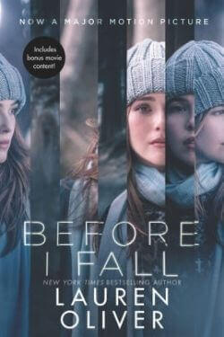 book cover Before I Fall by Lauren Oliver