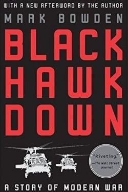 book cover Black Hawk Down by Mark Bowden