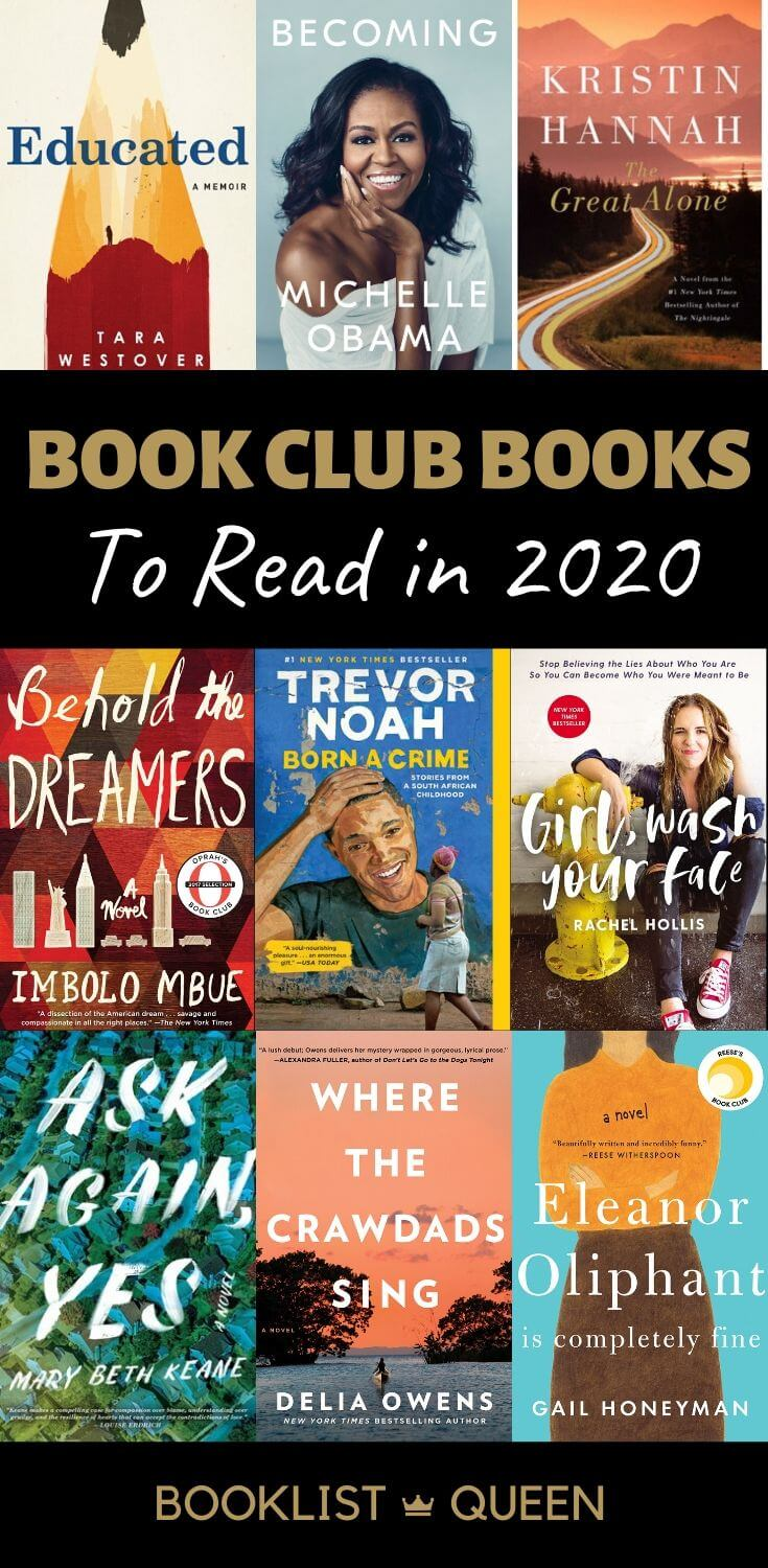 Book Clubs Books to Read in 2020