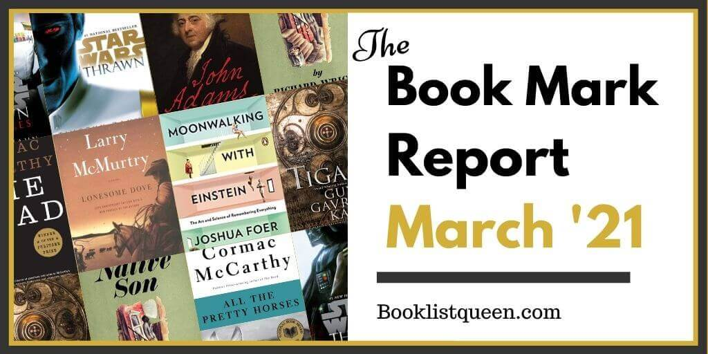 The Book Mark Report March 2021
