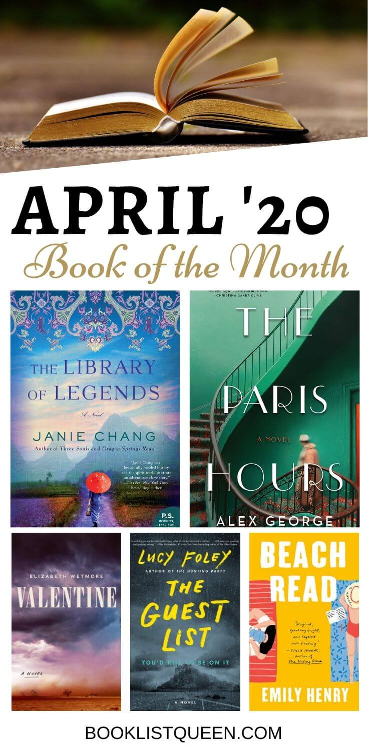 Book of the Month April 2020 Selections