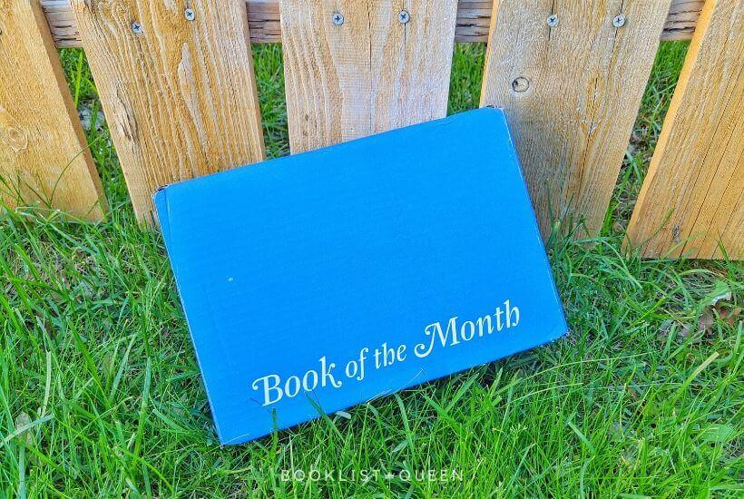 box for Book of the Month July 2020 selections
