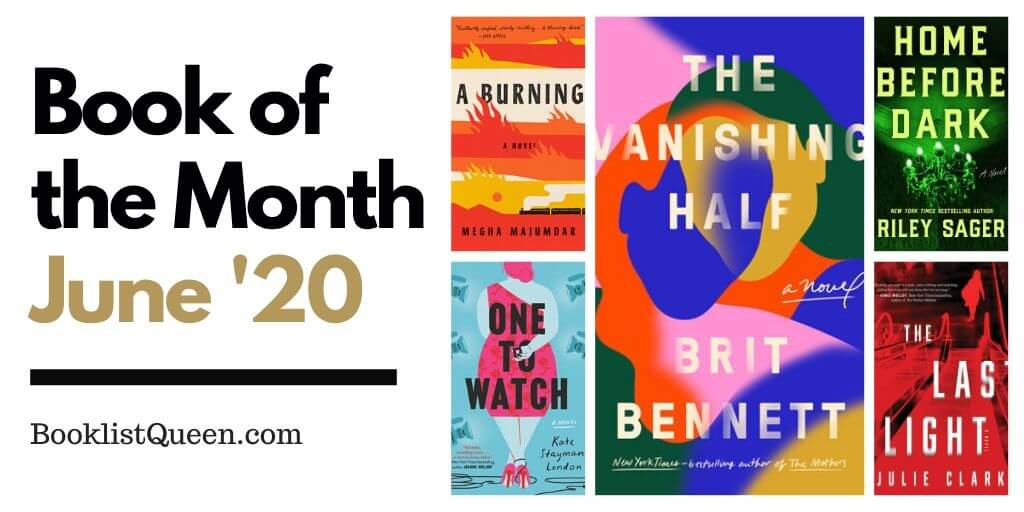 Book of the Month June 2020 Selections