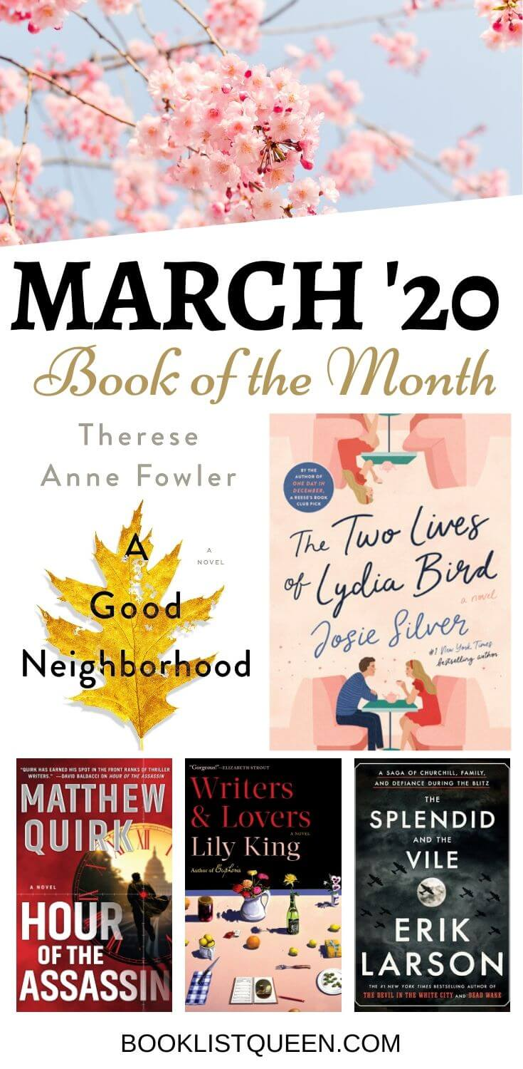 March 2020 Book of the Month Selections