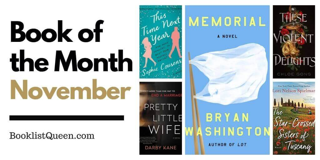 Book of the Month November 2020 Selections